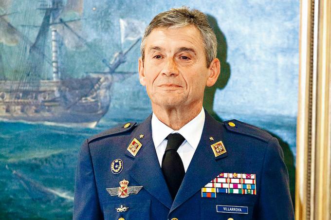 西班牙參謀長比利亞羅亞。
