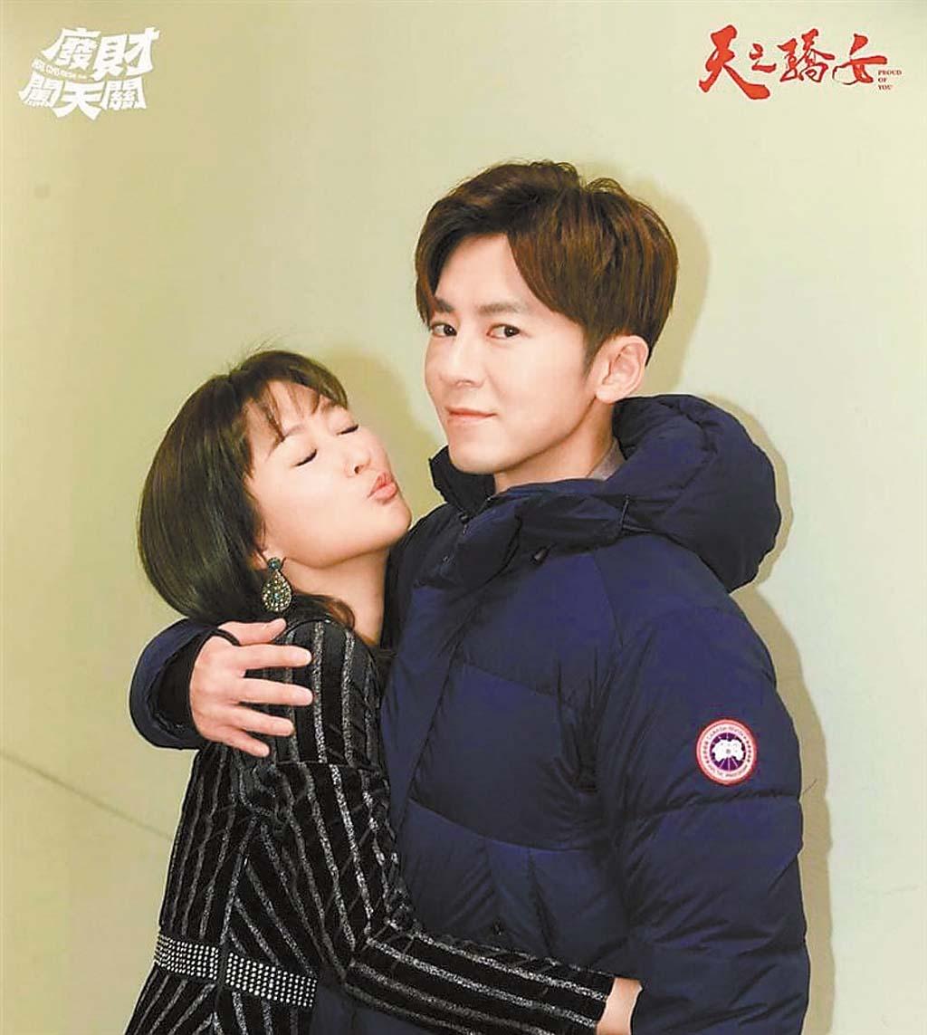 陳珮騏(左)和李國毅(右)