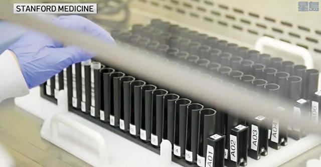 史丹福大學要查明確診病例中有多少涉及變種病毒。NBC電視畫面
