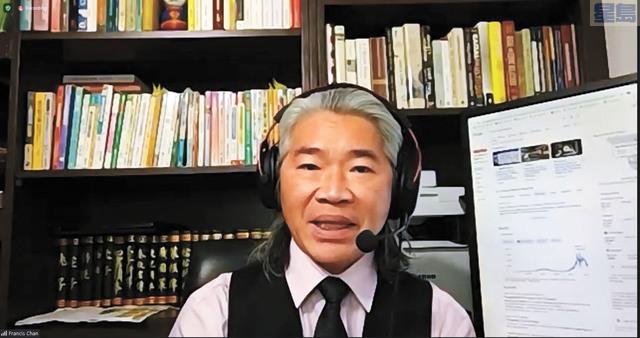 OEWD資深經理陳嘉霖。記者李兆庭截屏
