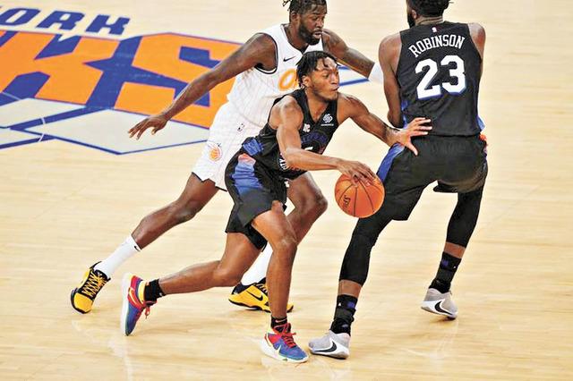 紐約尼克斯蟬聯NBA市值最高的球隊。網上圖片