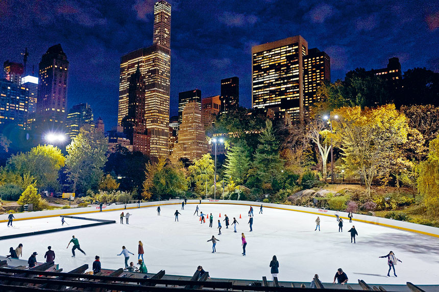 Wollman溜冰場及Lasker溜冰場將於本季保持開放。美聯社