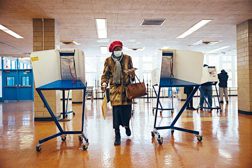 市長初選將於6月22日舉行。Kevin Hagen/紐約時報