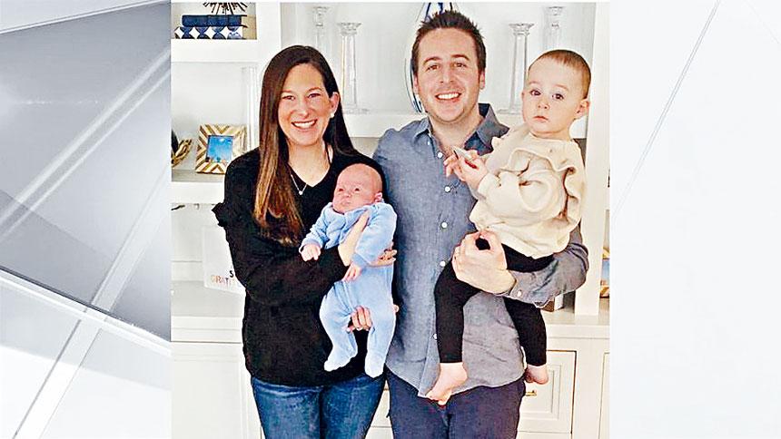 戈德法布夫婦順利在華盛頓大橋上誕下新生命。紐約市消防局圖片