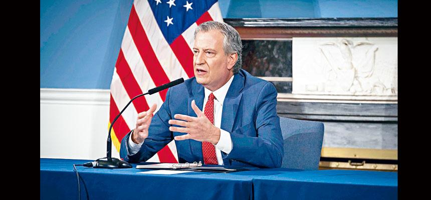 白思豪表示,希望為無法離開住所的人士提供上門接種。市長辦公室Flickr圖片
