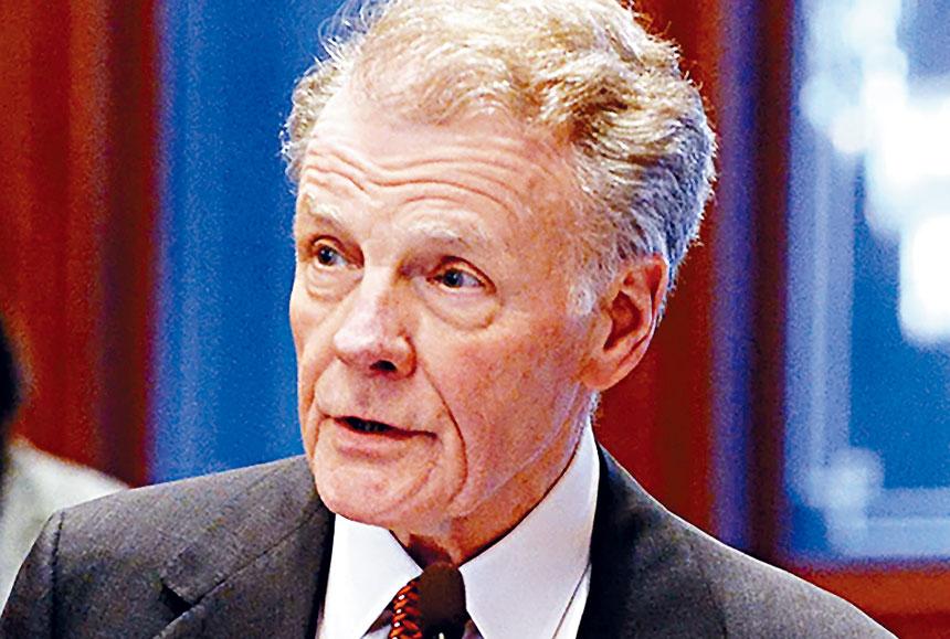 在伊州擔任公職長達50年的前議長麥克麥迪根,終在18日宣布隱退。麥迪根辦公室官網