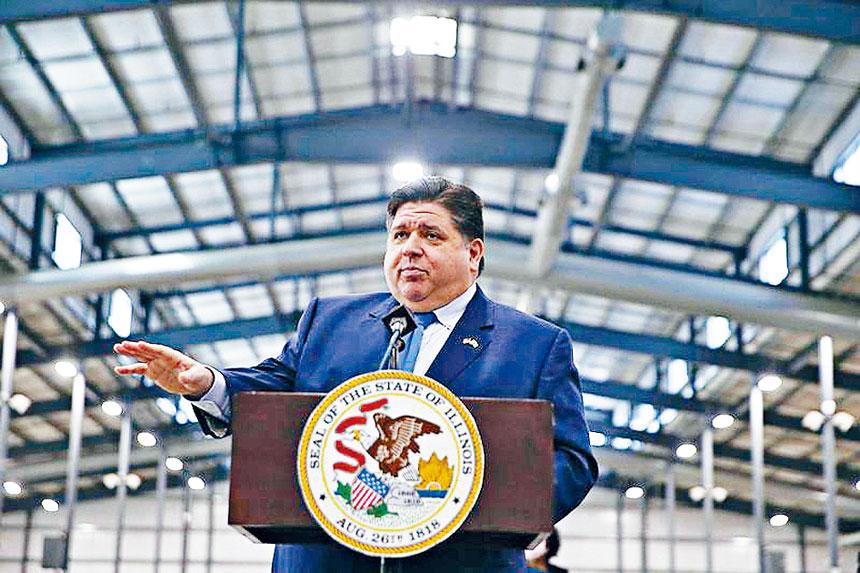 伊州長普瑞茲克提出下年度財政預算案,在不提升個人所得稅的情況下,但向企業稅開刀來彌補平衡。州長辦公室官網