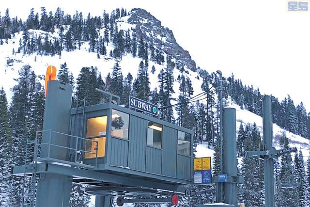 高山草原滑雪場去年一月發生雪崩導致1死1傷,死傷者家屬提控索賠。美聯社