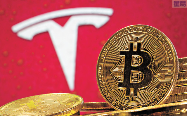 特斯拉從比特幣投資中獲得的利潤,超過2020年出售電動汽車的利潤。資料圖片