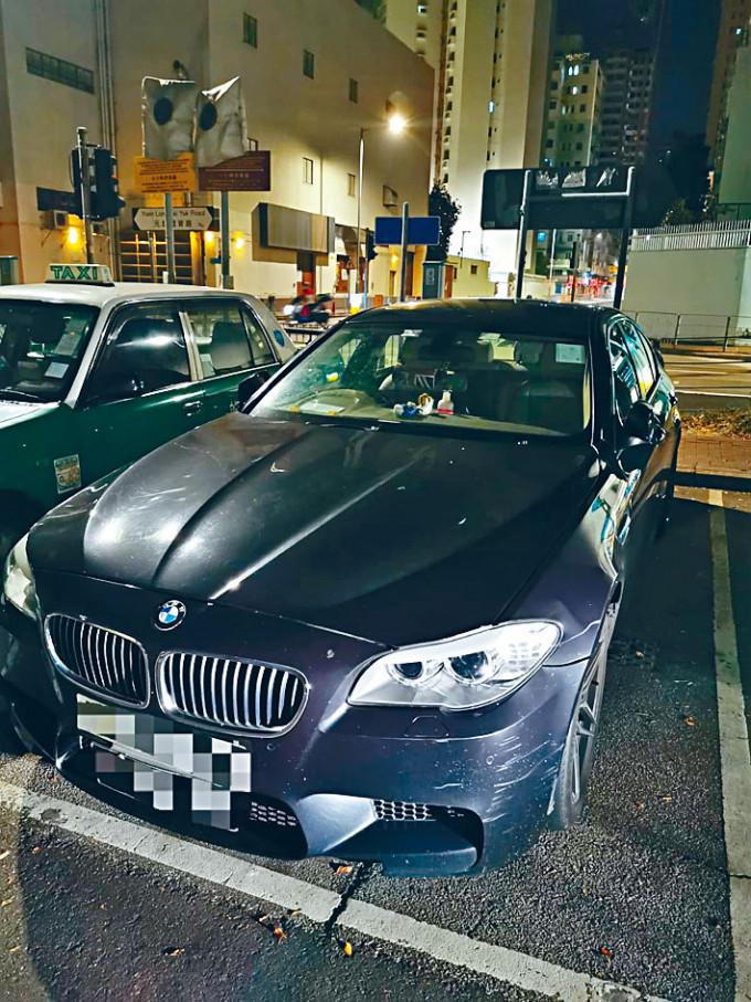 警方截獲超速近一倍的私家車。