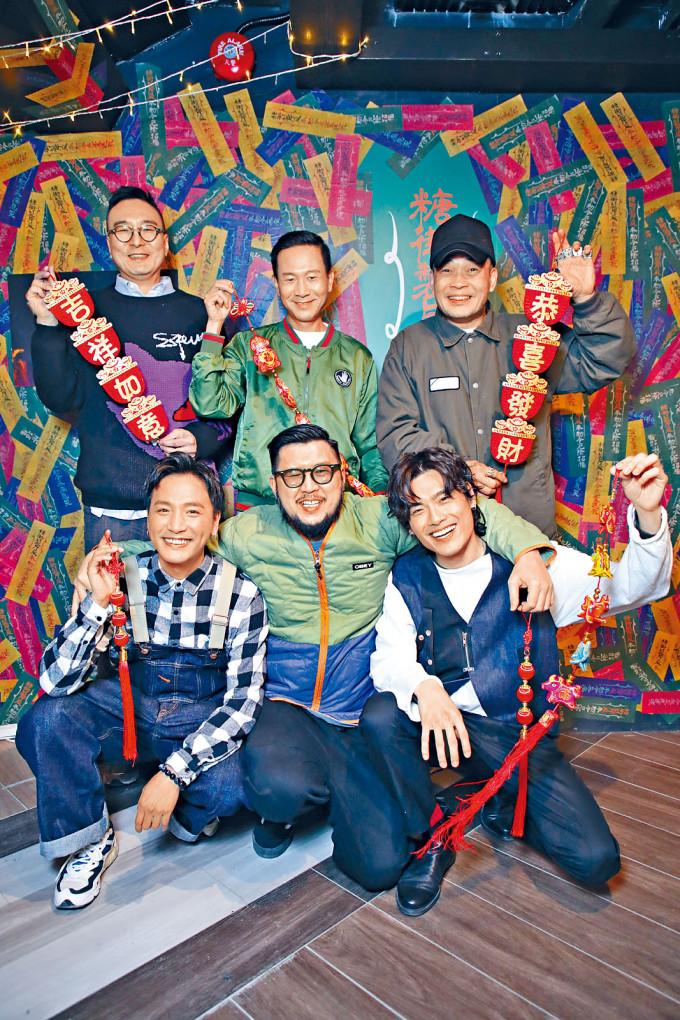 導演劉翁帶領葛民輝、陳國邦等一眾猛男,演出非一般的賀歲片。