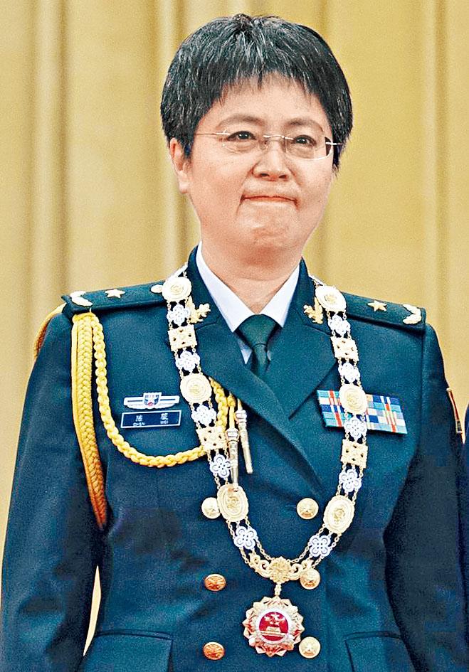 參與研發康希諾疫苗的軍科院專家陳薇。