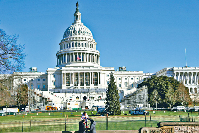 華盛頓國會山莊。