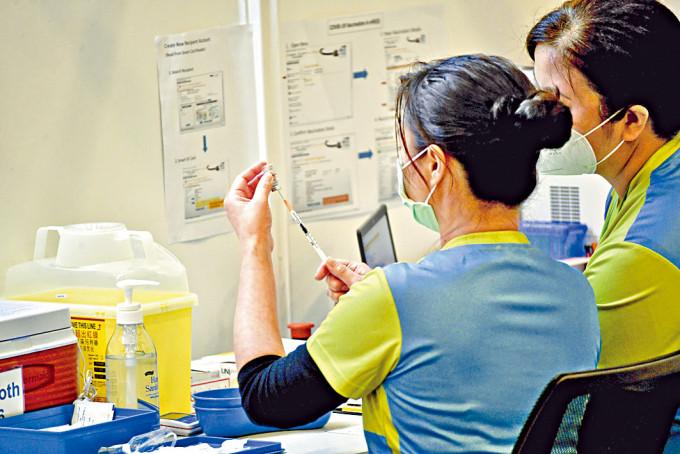 新冠疫苗接種計畫將於本周五展開。