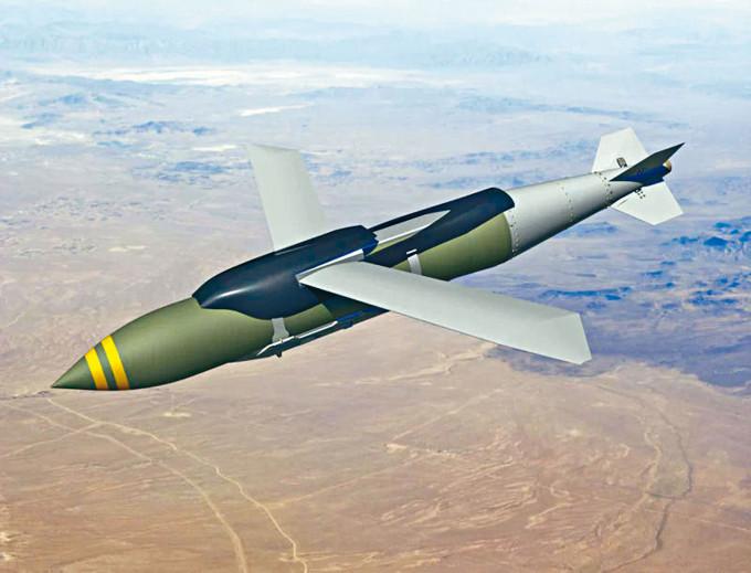 美軍的「聯合直接攻擊彈藥」(JDAM)炸彈。