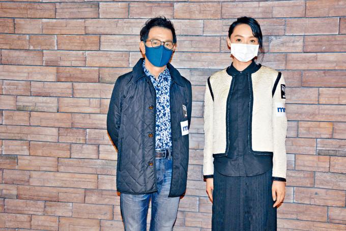 蔡思韵與袁富華齊現身確診商場,她表示隨身帶備消毒用品,接觸門框也會即時消毒雙手。