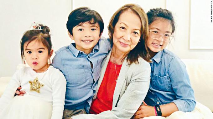 德州生火取暖喪生的越南外婆和三名孫子女。