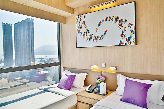 九龍樂善堂營運的B Hotel項目。