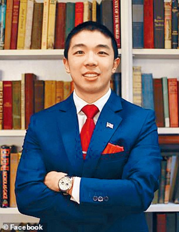 中槍身亡的耶魯大學研究生江凱文。