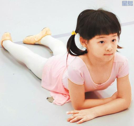 楊圓圓性格活潑、愛講笑話住院前也熱衷芭蕾舞。受訪者提供