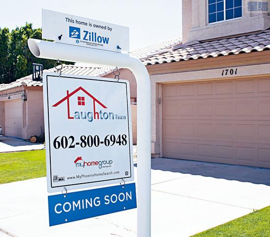 ■房地產網站Zillow擴大業務後推出新服務,公司為有意放盤的業主估價後,可以直接以現金購下房屋。Zillow圖片