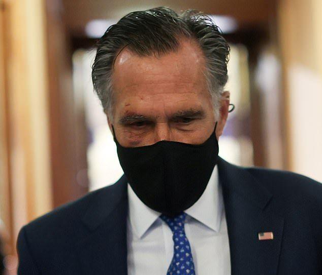 羅姆內1日在國會現身時,臉部明顯有瘀痕。路透社