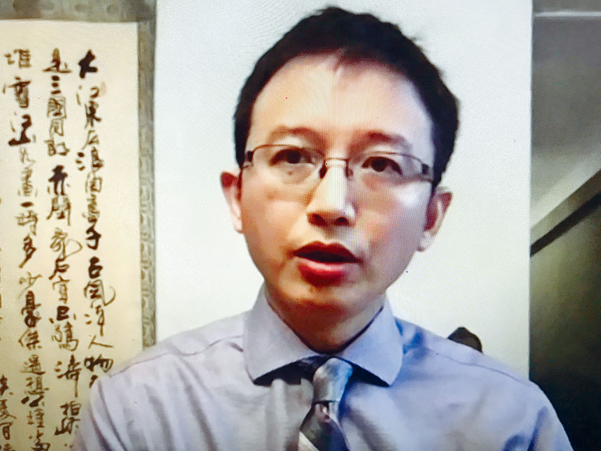 腫瘤與血液病專科郭松川醫師。