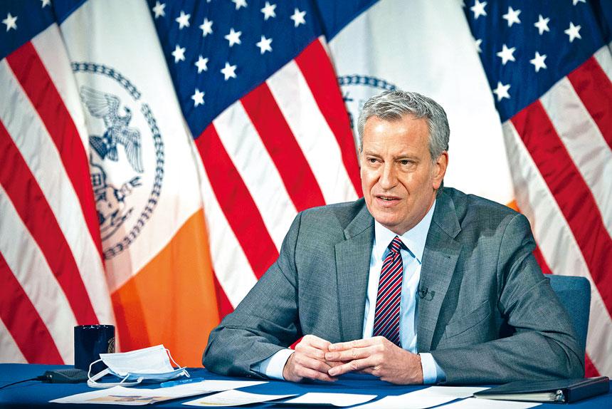 白思豪表示,布迪治上任對推進「擁擠費」有正面作用。市長辦公室Flickr圖片