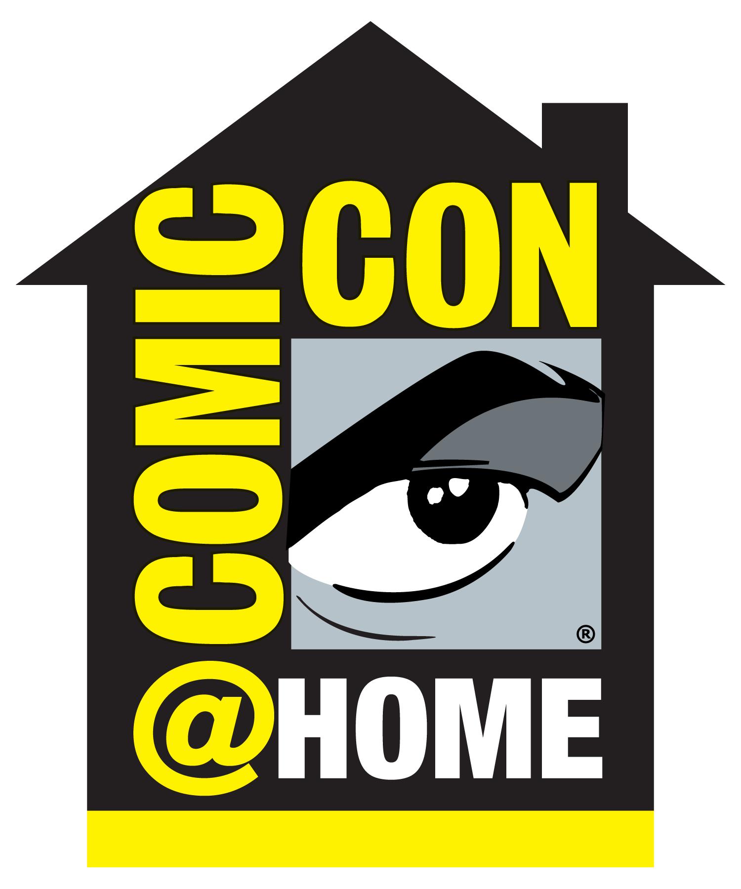 Comic-Con@Home標誌。圖自聖地牙哥動漫展官網