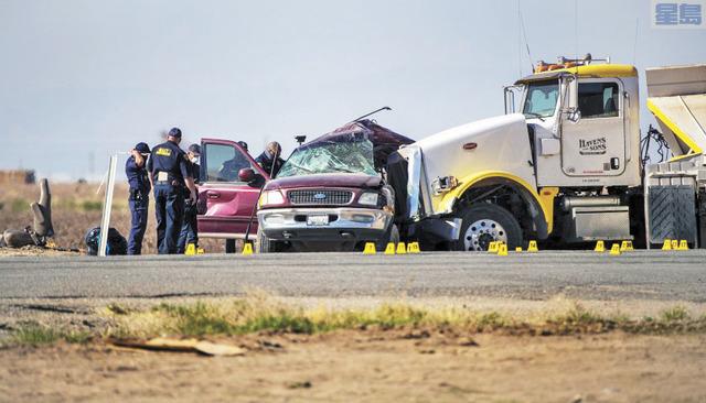 帝國縣發生13死的嚴重車禍,疑與人口販運有關。洛杉磯時報
