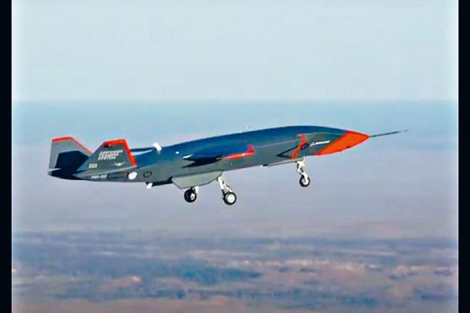「忠誠僚機」無人戰機上周六在澳洲成功試飛。