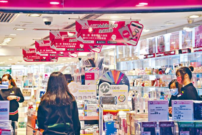 本港一月零售業銷貨額,較去年同期跌一成三。