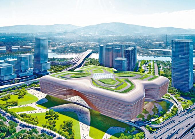 皇崗新口岸大樓的設計及建設費將由深圳承辦商負責,主體工程預計二〇二三年底完成。