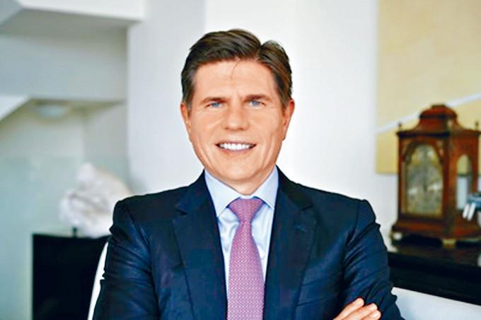 港交所新行政總裁歐冠昇。