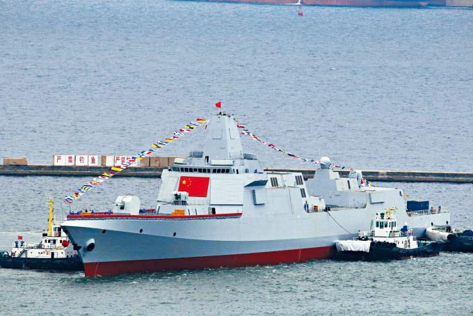 「拉薩」艦二○一八年下水。