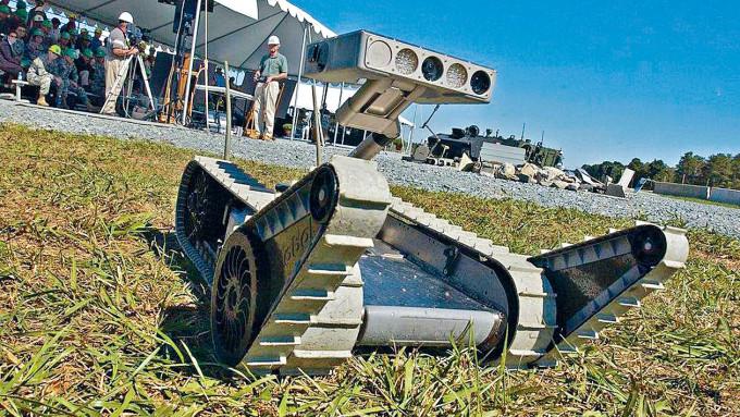 美國陸軍一個AI機械人。