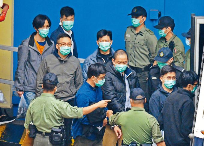 譚文豪、呂智恆等多名被告獲准保釋,但控方提出覆核,最終須還柙候訊。