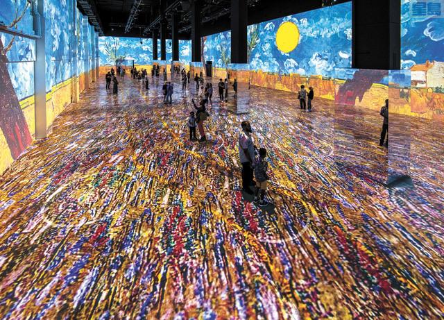 「沉浸式梵高」展將以全新數字藝術方式帶領觀眾進入藝術大師的內心世界。主辦方提供