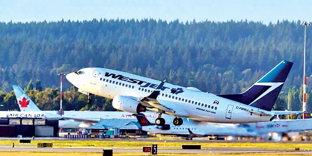 ■西捷航空希望政府能給予公平待遇。加通社資料圖片