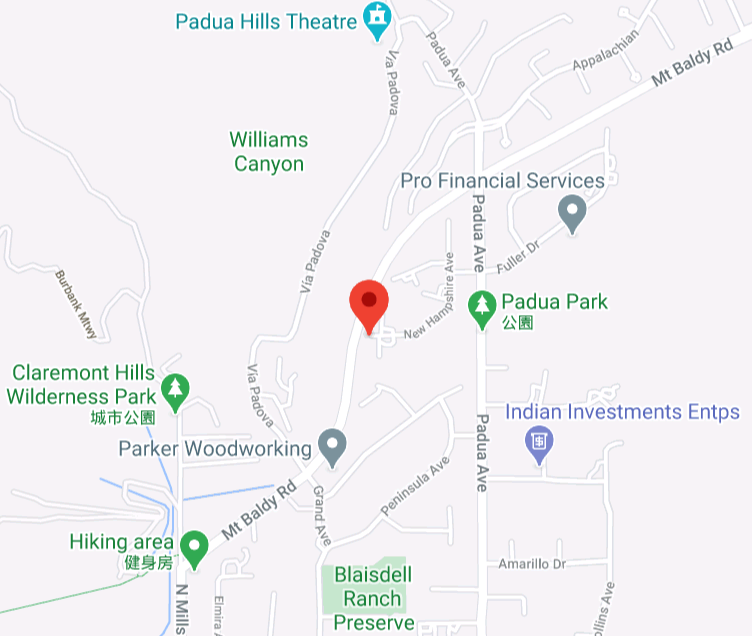 發生火災的非法大麻種植出租屋所在地。Google地圖