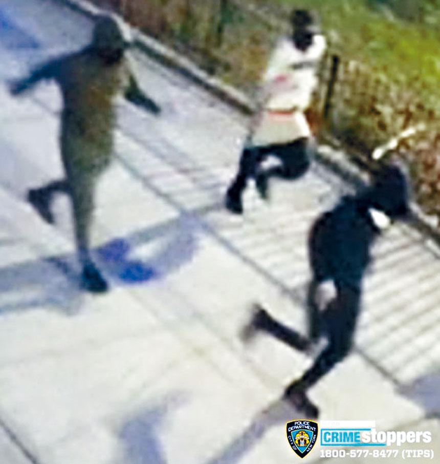 犯搶劫罪嫌犯。警方提供
