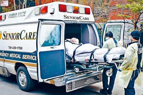 紐約療養院成防疫破口,柯謨曾給予療養院法律豁免權,引發爭議。美聯社圖片