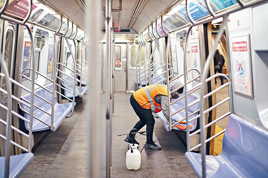 MTA自疫情爆發以來已流失約4000個就業崗位。Natalie Keyssar/紐約時報