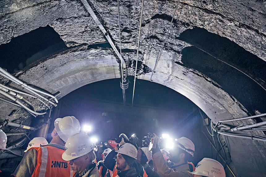 狄納帕尼指出,大流行已嚴重拖延MTA資本計劃的進度。Victor J. Blue/紐約時報