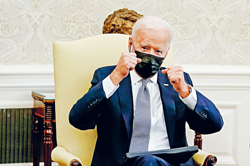 拜登被指曾經讚揚州長柯謨的「雄風」。Amr Alfiky/紐約時報