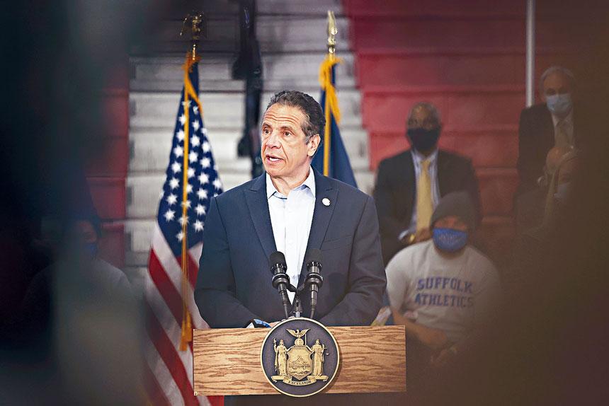 柯謨表示,將會為市長競選進行背書。美聯社