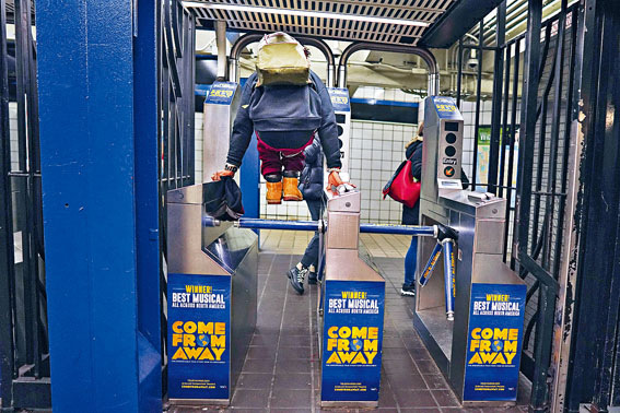 地鐵逃票令MTA遭受巨大損失。Chang W. Lee/紐約時報