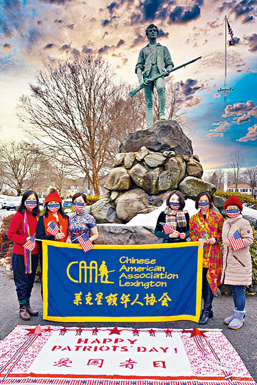 萊鎮華協積極組織參與愛國者日慶祝活動。萊鎮華協供圖