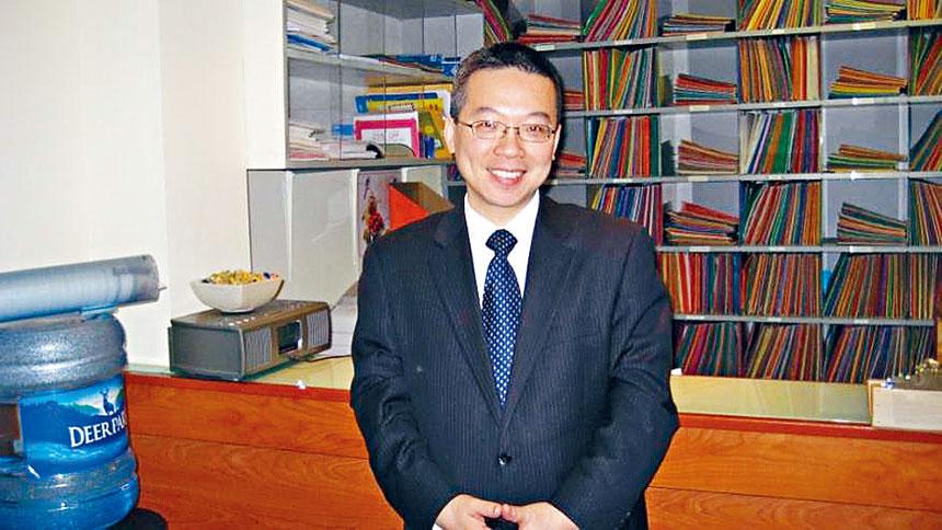 華埠神經內科張錫山醫師。