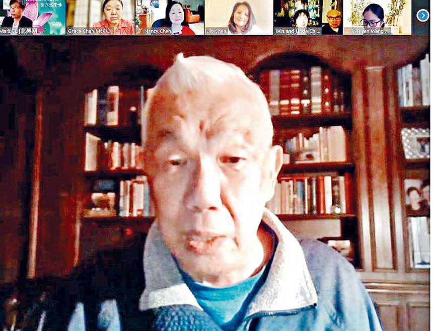 華埠更好團結聯盟前主席陳增華,強調群策群力發揮社區團結的能量,為亞裔社區締造歷史新篇。梁敏育攝